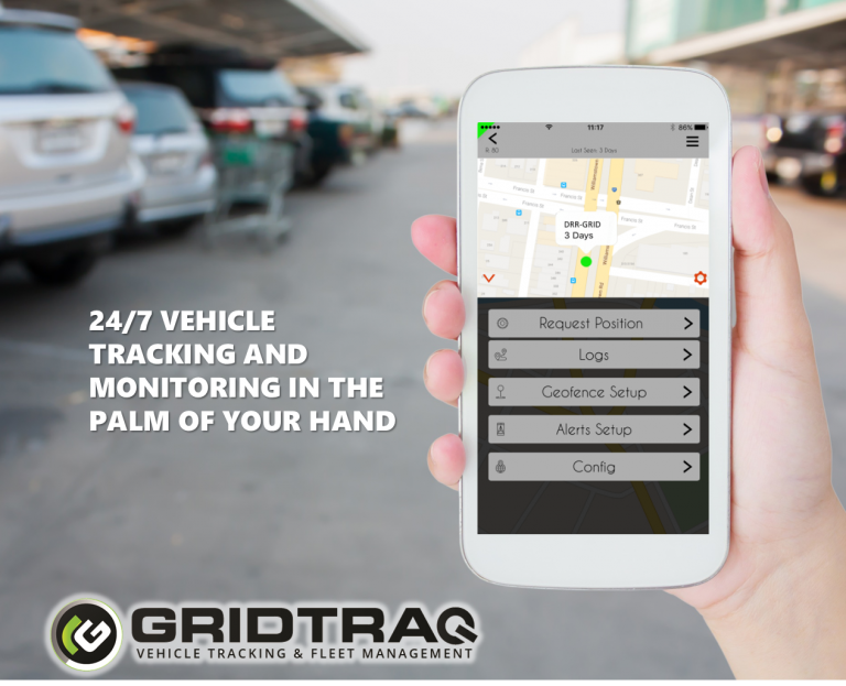 Audio Visual Security | Gridtraq 24hr vehicle tracking and monitoring