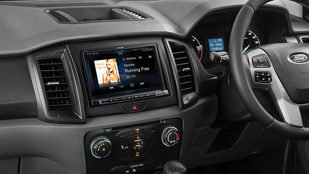 Audio Visual Security | 2016 Ford Ranger and Everest Car Stereo