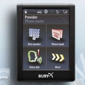 Audio Visual Security | BURY CC9068 Bluetooth Kit with Touch Screen