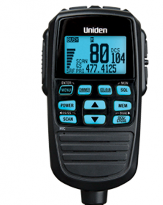 Audio Visual Security | Uniden UHF Radio Handset